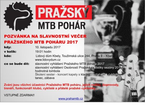 Slavnostní večer PMTBP 2017_pozvánka